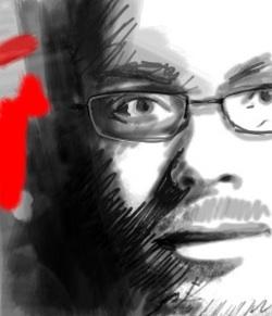 Jérôme Vidal, gérant des Editions Amsterdam. (©Gabriel pour ideeajour.fr)