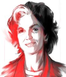 Fariba Hachtroudi (Gabriel pour l'Agence Idea)