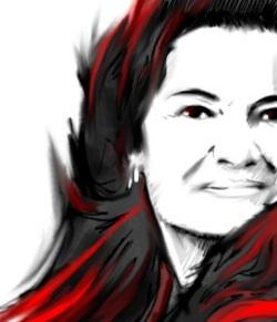 Elisabeth Roudinesco (Gabriel pour L'Agence Idea)