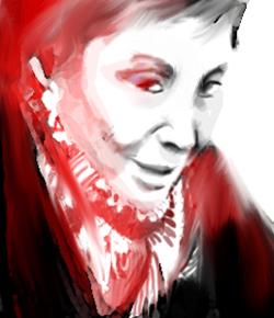 Julia Kristeva (Portrait de Gabriel pour l'Agence Idea)