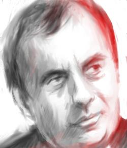 Père Patrick Desbois (Portrait de Gabriel pour l'Agence Idea)