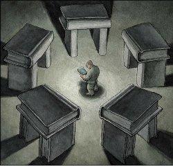 Google. La numérisation des fonds littéraires sans régulation est considérée comme une menace par nombre d'éditeurs et d'auteurs.