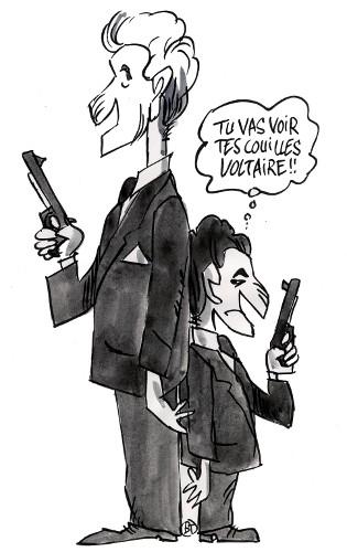 Villepin vs Sarkozy