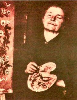 Séraphine Louis dite Séraphine de Senlis.