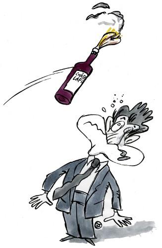 Sus aux buveurs d'eau, spécial vin