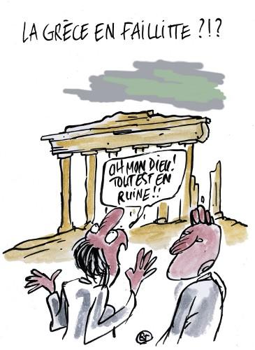 La Grèce en faillitte