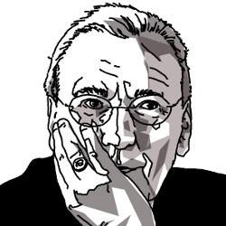 Michel Maffesoli (portrait : Darius pour L'annuel des idées)