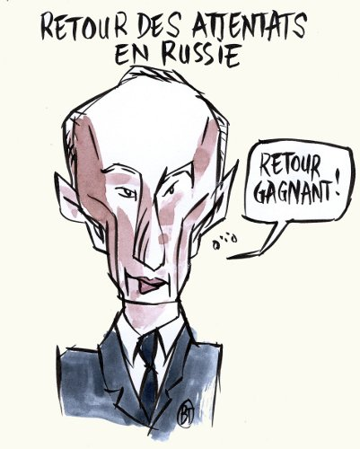 Vladimir Poutine is back