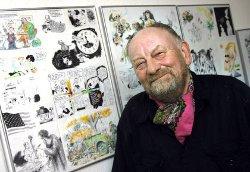 Le caricaturiste Kurt Westergaard : la police danoise a déjoué en 2008 une tentative d'attentat contre lui.