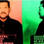 """Ryôichi Sasakawa, considéré comme un criminel de guerre de catégorie A et qui se définira à Time magazine comme """"le fasciste le plus riche du monde""""."""