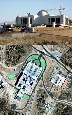 Palais présidentiel de Namibie, 50 000 m2 pour 49 million de dollars