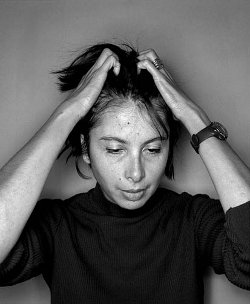 Nathalie Quintane (photo :  ©Olivier Roller)
