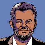 Eric Naulleau, éditeur et chroniqueur d'On n'est pas couché (Darius pour Lesinfluences.fr)