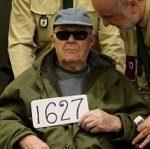 L'accusé Demjanjuk, 91 ans, à son dernier procès à Munich.