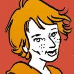 Emmanuelle Veil, rédactrice en chef de Siné Mensuel (portrait : Erwann Terrier).