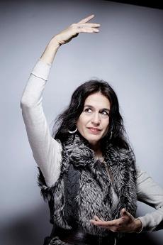 La Myriam de l'affiche est devenue Yumma Mudra, danseuse et philosophe du danza duende (©Olivier Roller-Lesinfluences.fr)