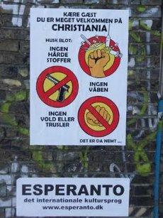Les lois pacifiques de Christiania.