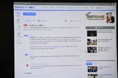 Photo d'écran de la rubrique En Direct de FTVi.