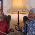 Les marionettes de Desmond Tutu et Nelson Mandela dans l'émission ZANews