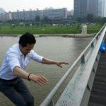 Le 26 juillet, Sung Jae-gi, leader d'Homme de Corée. De la parole aux actes.