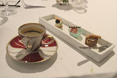 Café gourmant au restaurant