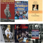 « Dans les librairies du même quartier Latin, il est impossible d'énumérer les ouvrages, dictionnaires ou encyclopédies consacrés au cinéma ayant choisi une photographie du tournage pour illustrer leur couverture » (p32).