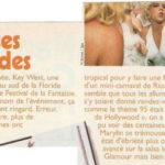 « Le festival de la fantaisie de Key West a vu débarquer pleins de Marilyn pour son édition de 1995 sur le thème de L'Âge d'or d'Hollywood » (p29).