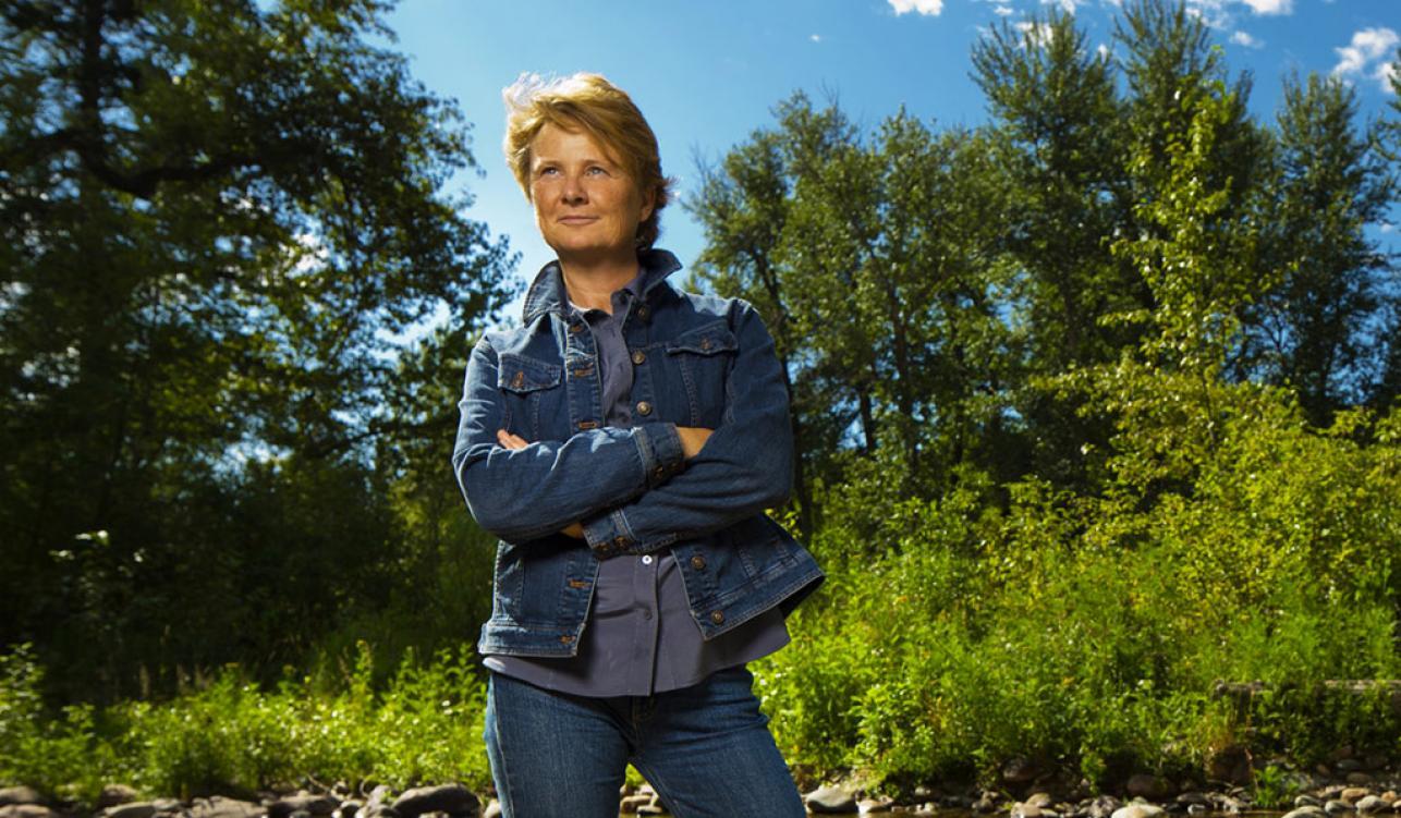 La biologiste Janine Benyus, théoricienne du biomimétisme.