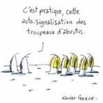 Ce dessin signé Xavier Gorce a mis le feu à Tweeter.
