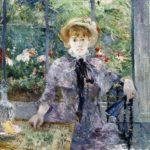 Après le déjeuner, Huile sur toile de Berthe Morisot (1881). Collection particulière.
