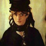 Berthe vue par Édouard Manet.