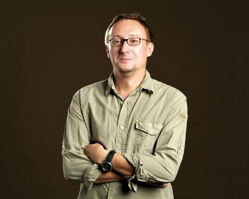 Le journaliste Alexandre Lévy. D.R