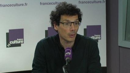 L'historien Sylvain Boulouque, spécialiste des radicalités et des théories de l'anarchisme.