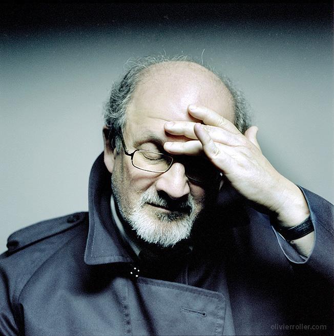 Même les protestations d'un Salman Rushdie ne portent pas dans l'Inde de Modi. By Olivier Roller.