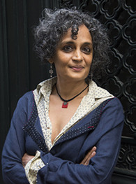 La romancière Arundhati Roy. Photo Gallimard