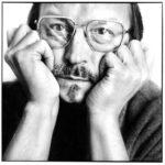 L'écrivain Didier Daeninckx by ©Olivier Roller.