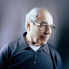 Le philosophe Jean Baudrillard par Olivier Roller.