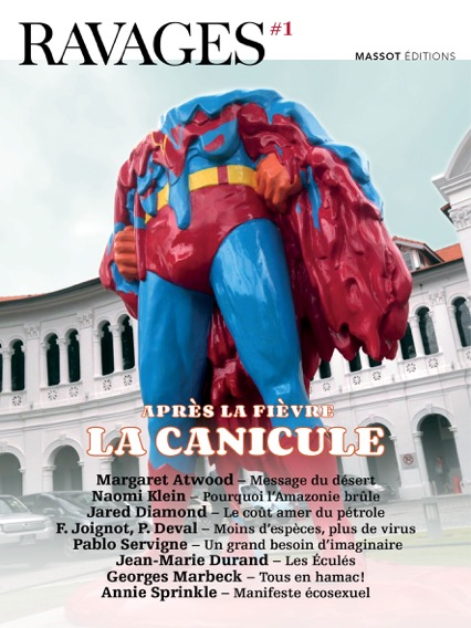 Tiré à 5 000 exemplaires, Ravages sera dans les rayons de librairies et maisons de la presse, le 18 juin. 10 euros l'exemplaire.