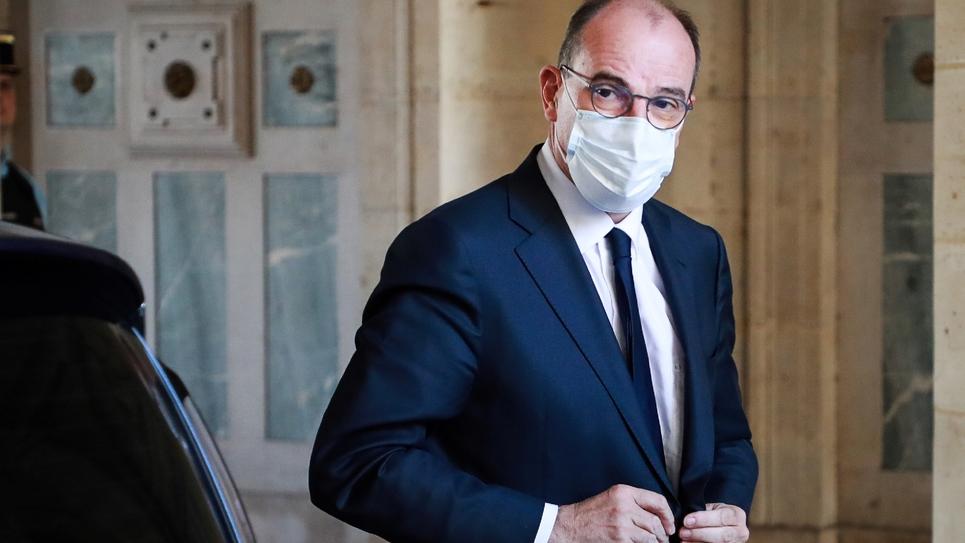 Le PM Jean Castex (Source : Public Sénat).