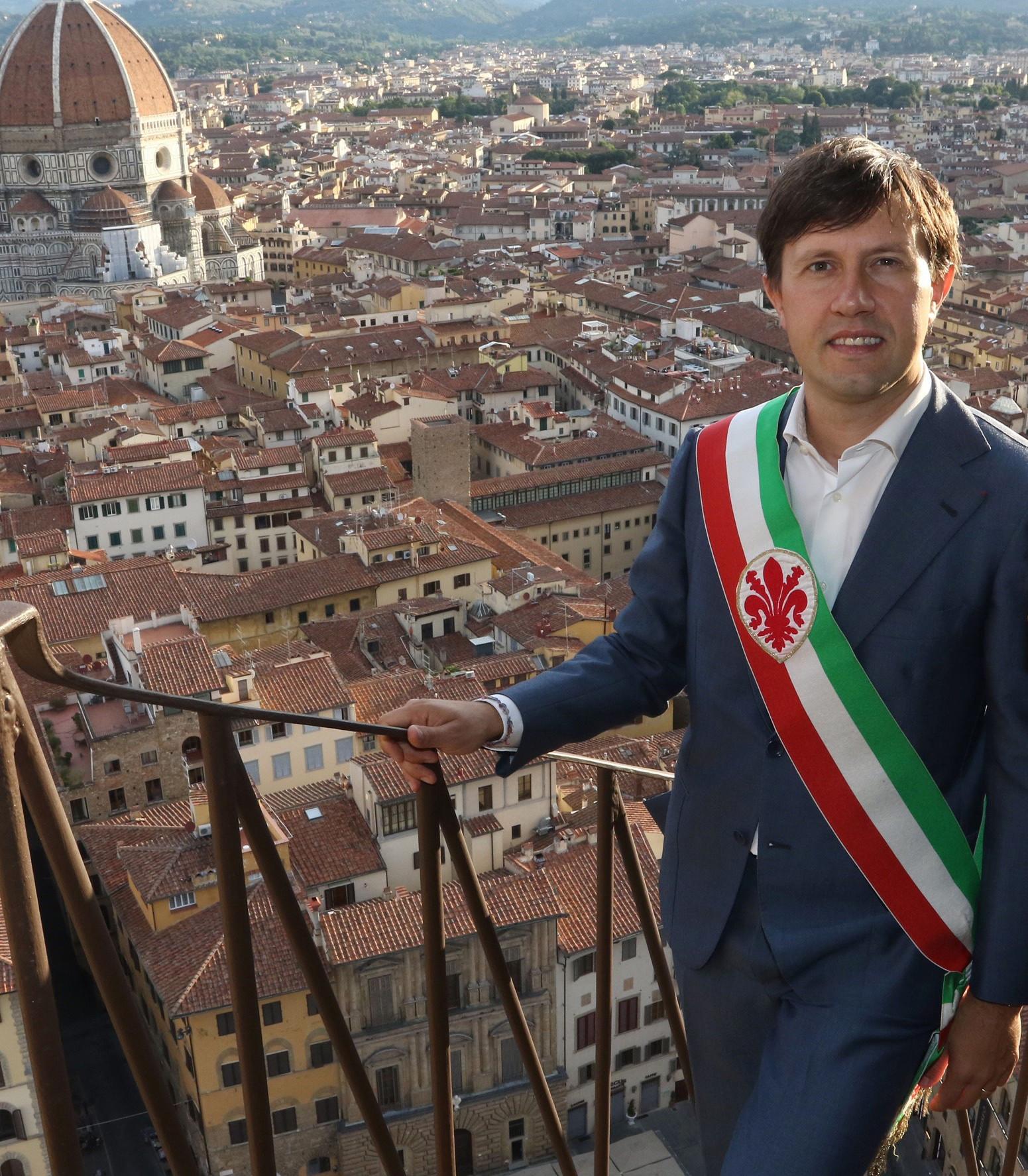 Dario Nardella, maire de Florence en 2016.